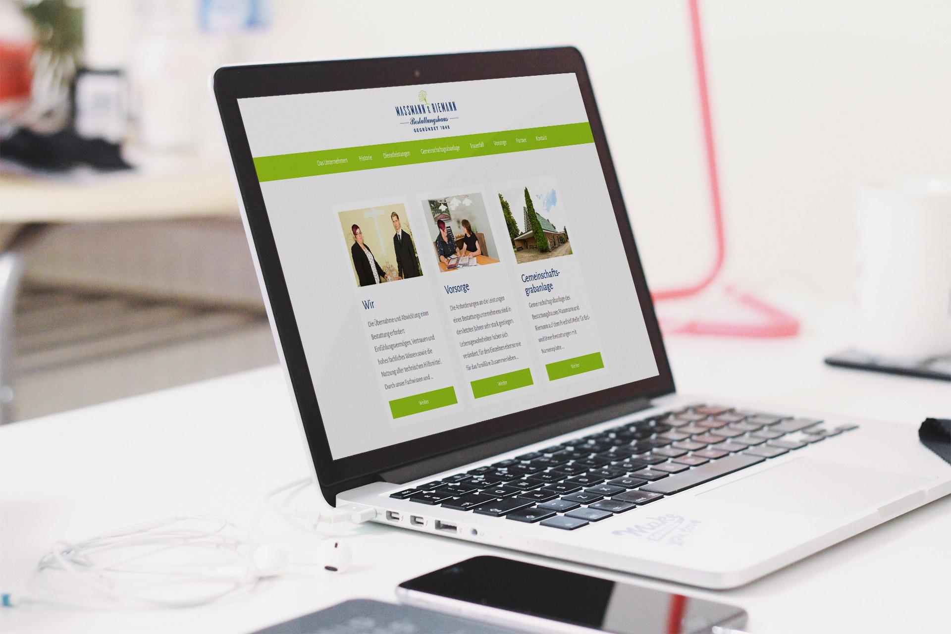 Bestatter Website