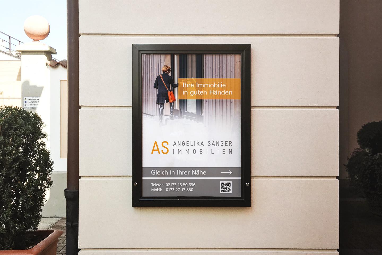 Immobilien-Plakate